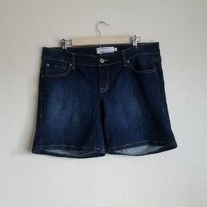 Torrid Dark Wash Shorts